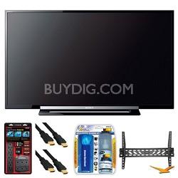 "KDL-46R453A 46"" R450A Series LED HDTV Wall Mount Bundle"