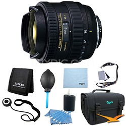 AT-X AF 10-17mm f3.5-4.5 DX Fisheye Lens for Canon DSLRs - Lens Kit Bundles