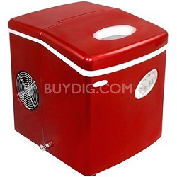 AI-100R Portable Ice Maker (Red)