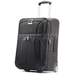 "Aspire XLite 21.5"" Upright Expandable Luggage (Black)"