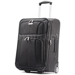 """Aspire XLite 21.5"""" Upright Expandable Luggage (Black)"""