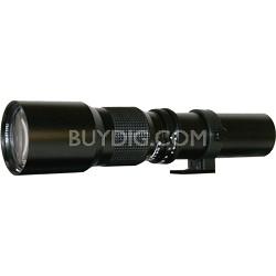 500P - 500mm f/8.0 Telephoto Lens