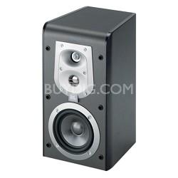 """ES30BK 3-Way, 6 1/2"""" Bookshelf Speaker - Black (Pair)"""
