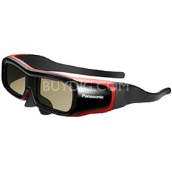 TY-EW3D2SU - 3D Active Shutter Eyewear Small Fit (Black/Red)