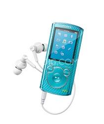 NWZ-E464 8 GB Walkman MP3 Player (Blue)