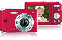 J1250 12MP Smart Series Digital Camera (Red)