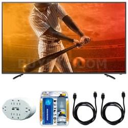 "Aquos N1300 FHD 60"" Class 1080p 60Hz WiFi Smart LED TV w/ Hook up Bundle"