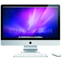 "iMac MC510LL/A 27"" 3.2GHz Core i3 Desktop Computer - Manufacturer Refurbished"