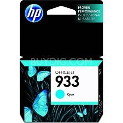 933 Cyan Officejet Ink Cartridge