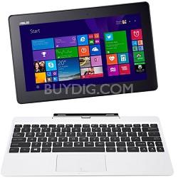 "Transformer Book T100TA-C1-WH(S) 10.1"" Detachable 2-in-1 Touchscreen Laptop, 64G"