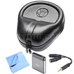 HardBody PRO Full Sized Headphone Case & Fiio AMP Bundle - SL-HP-07