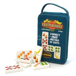 Fruitominoes Game, 28 Dominoes + Pouch - FRU001