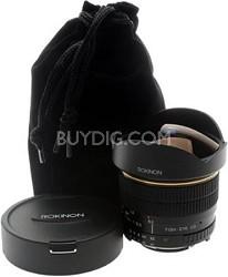 8mm f/3.5 Aspherical Fisheye Lens for Nikon DSLR Cameras