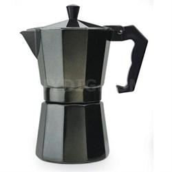 Stovetop Espresso 6cup Black