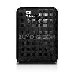 Western Digital My Passport 1 TB USB 3.0 Portable Hard Drive - WDBBEP0010BBK-NESN (Black)