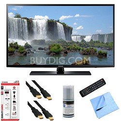 UN48J6200 - 48-Inch Full HD 1080p 120hz Smart LED HDTV Hook-Up Bundle