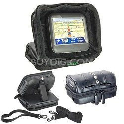 Universal GPS Nav-Pack - Weighted Dash Mount/Carrying Case