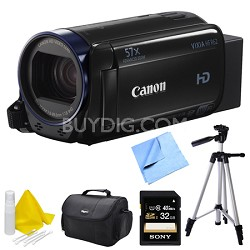 Vixia HF R62 High Definition Camcorder Deluxe Bundle
