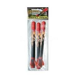 Super High Performance Stomp Rocket Refill 3 Pack