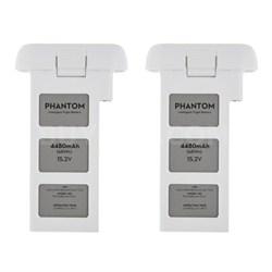 Phantom 3 Quadcopter Drone 4480mah Intelligent Flight Battery 2-Pack Bundle
