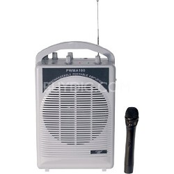 PWMA100 - Rechargeable Portable PA System with Wireless MIC