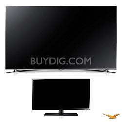"UN60F8000 60"" 3D Ultra Slim Smart WiFi LED HDTV and 29"" LED HDTV Bundle"