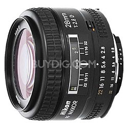 28mm F/2.8D  AF Lens, With Nikon 5-Year USA Warranty