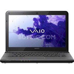 "VAIO 14.0"" SVE1411EGXB Notebook PC - Intel Core i5-2450M Processor"