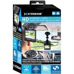 """High Definition Dash Cam - Automotive HD DVR IR Night Vision Camera w/ 2.4"""" LCD"""