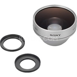 VCLHA07A - Wide Angle Conversion Lens X0.7 for MiniDV & Hi8 Camcorder 25/30/37mm