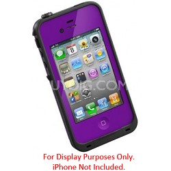 Waterproof Shockproof and Dirtproof iPhone Case for the iPhone 4S/4 - Purple