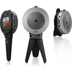 Foldable Video Camera Stick with Built-in Tripod