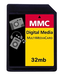 32MB MultiMedia Memory Card (MMC)