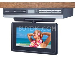 "VE927 9"" LCD Drop Down TV with Built-In DVD"