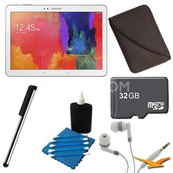 Galaxy Tab Pro 10.1 Tablet - White Ultimate Bundle