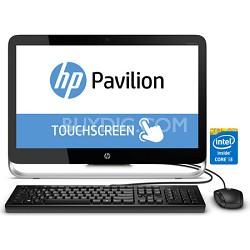 """Pavilion 23-p010 23"""" HD All-in-One Desktop PC - Intel Core i3-4130T Processor"""