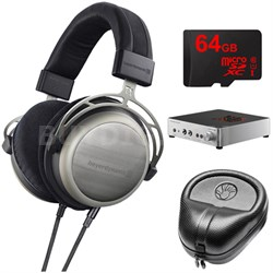 T1 Second Generation Audiophile Stereo Headphone w/ A2 Amp Bundle