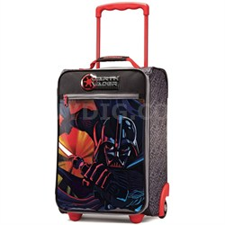 "18"" Upright Kids Disney Themed Softside Suitcase (Star Wars Darth Vader)"