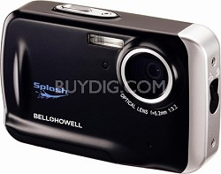 WP5 Waterproof 12.2 MP Black Digital Camera w/ 5X Zoom, 2.7 Inch LCD
