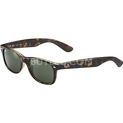 New Wayfarer  Sunglasses - Tortoise Frame-Brown Lens 52mm