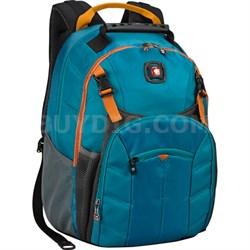 "SwissGear Sherpa 16""  Backpack - Teal/Orange"