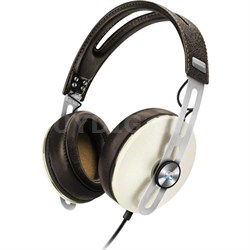 Momentum 2 Over Ear Stereo Headphones for Samsung Galaxy Android Devices - Ivory
