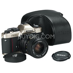 FM-10 KIT 35-70 MF SLR CAMERA with Nikon usa warranty