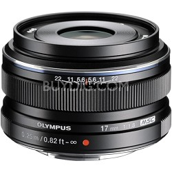 M.Zuiko 17mm f1.8 Lens (Black) - V311050BU000