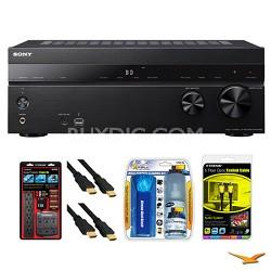 STR-DH740 7.2 Channel 4K AV Receiver Surge Protector Bundle