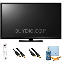 60-Inch Plasma 1080p 600Hz Smart 3D HDTV Plus Hook-Up Bundle (60PB6900)