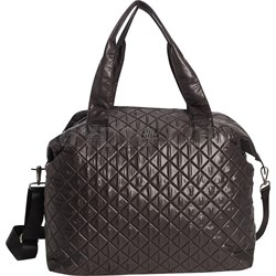 QUILT2S Print Quilted Bag - Black