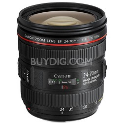 EF 24-70mm F/4L IS USM Standard Zoom Lens - OPEN BOX