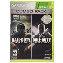 COD Blk OPs 1 and 2 Combo X360