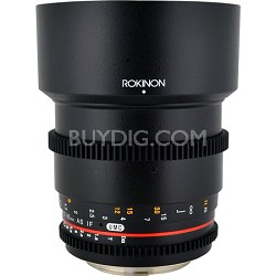 85mm T1.5 Cine Lens for Micro Four-Thirds Mount